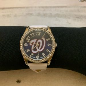 Ladies Washington Nationals Glitz Watch